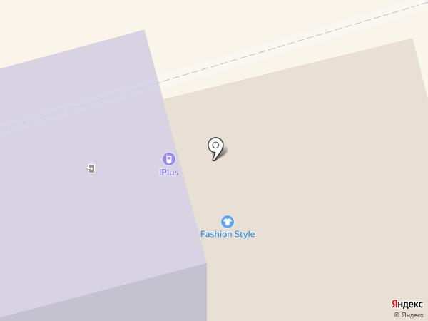 Путь воина на карте Калининграда