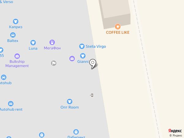 School style на карте Калининграда