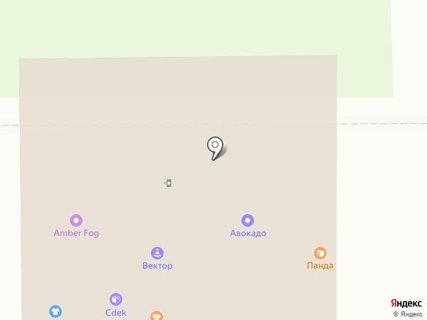 Дизайнерские Фишки на карте Калининграда