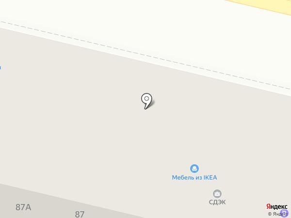 Darvin на карте Калининграда