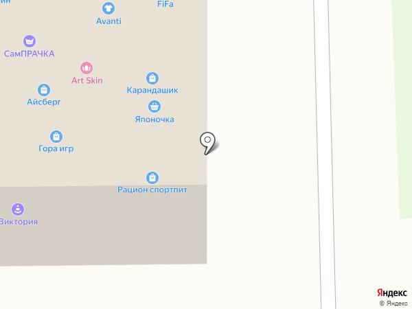 Мои сумки на карте Калининграда