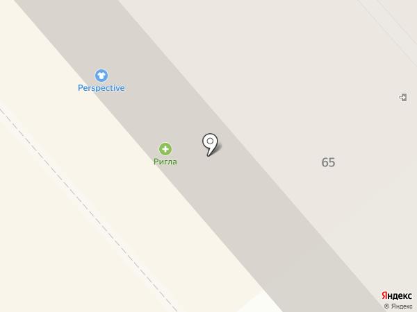 Суши WOK на карте Калининграда