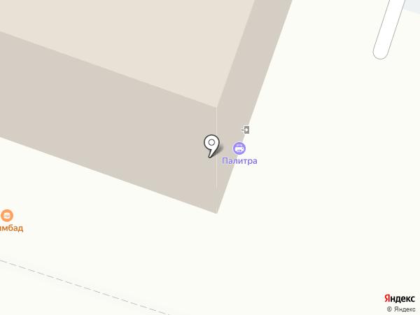 Орис на карте Калининграда