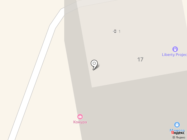 Bastard Barbershop на карте Калининграда