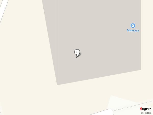 Кловер на карте Калининграда