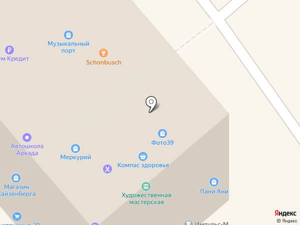 Здоровая семья на карте Калининграда