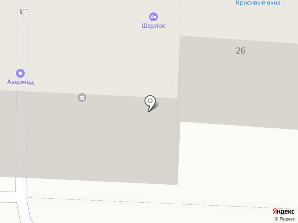 Амплитуда на карте Калининграда