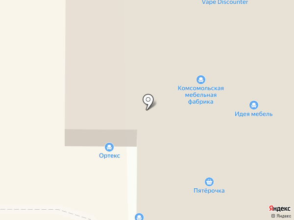 Империя комфорта на карте Калининграда