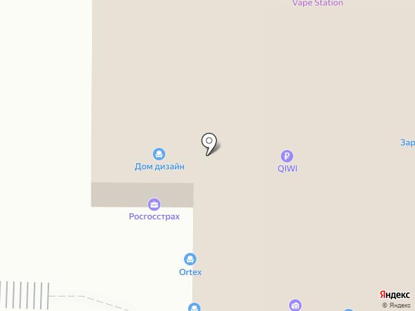 Первый мебельный на карте Калининграда