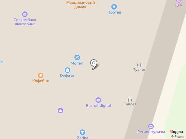 Monelli на карте Калининграда