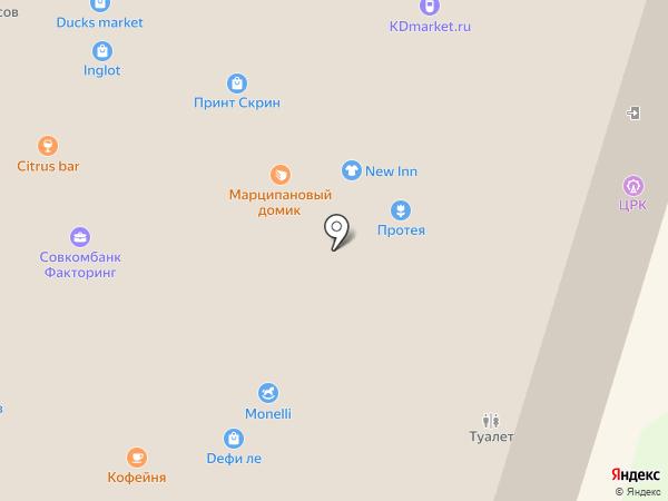 Домашние радости на карте Калининграда