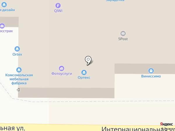 МДФ на карте Калининграда