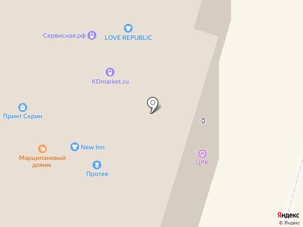Zolla на карте Калининграда
