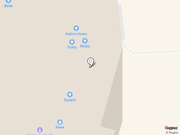 SisLine на карте Калининграда