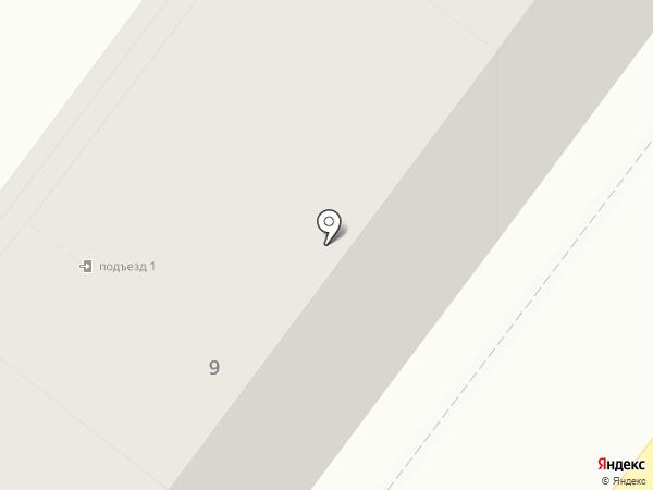 Мимоза на карте Калининграда
