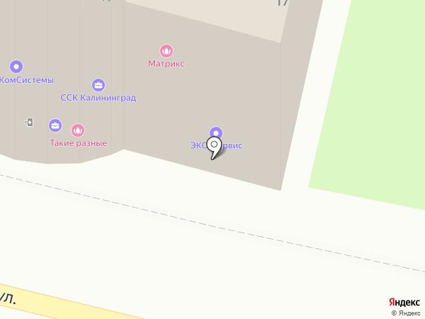 Чайный клуб на карте Калининграда