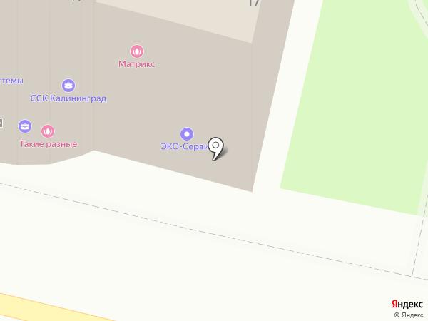 WOKЗАЛ на карте Калининграда