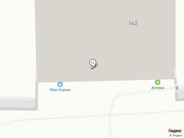 Едим дома на карте Калининграда