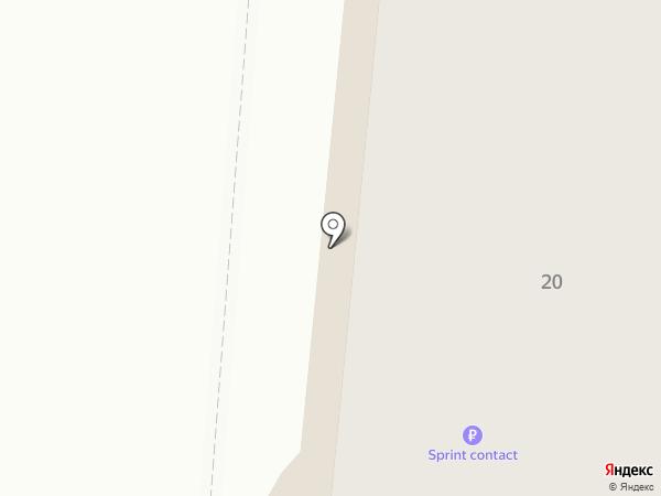 Пинта на карте Калининграда