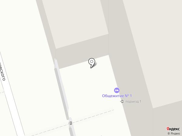 Хром-Центр на карте Калининграда