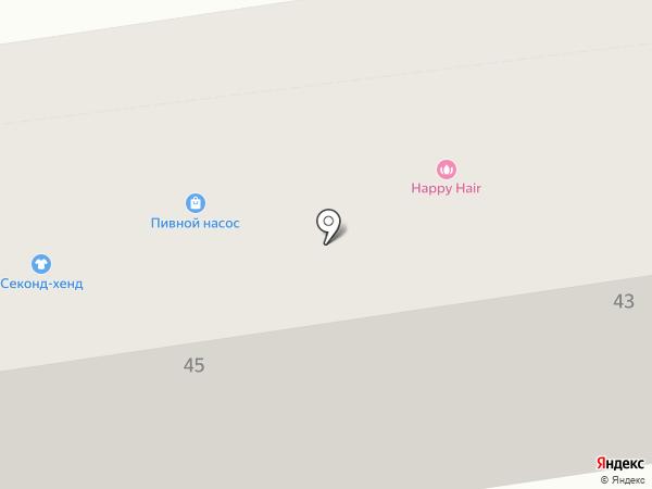 Добрый на карте Калининграда