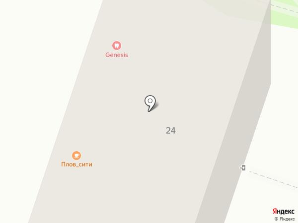 Зинькоff на карте Калининграда