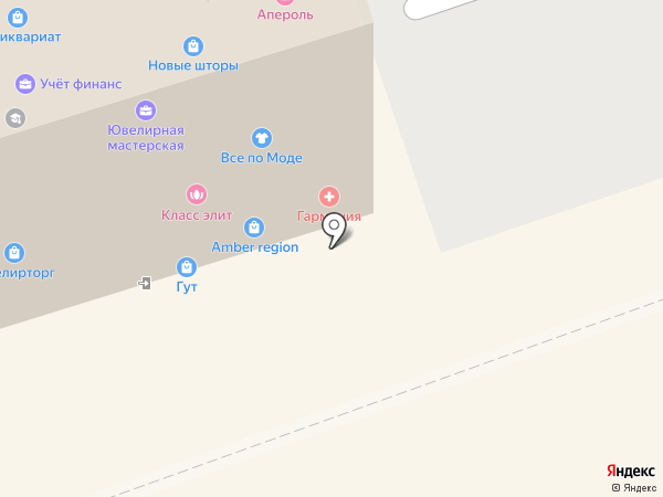 Эсперанс на карте Калининграда