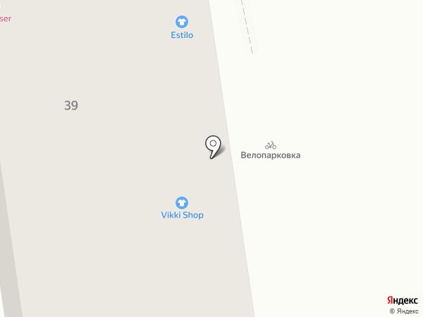 Estilo на карте Калининграда