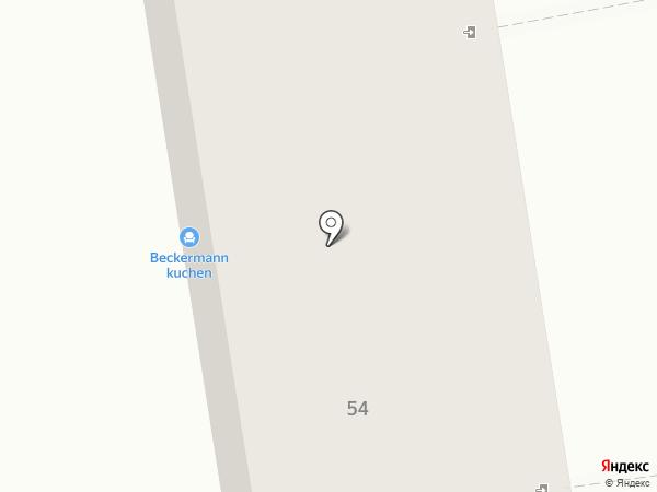 Агнат на карте Калининграда