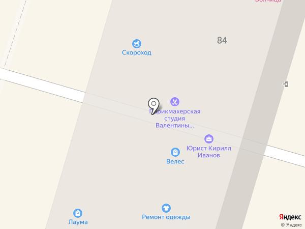 Василиса на карте Калининграда
