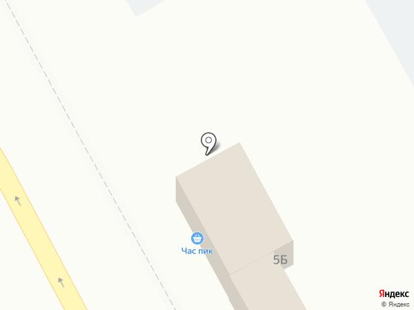 Блинца-ца на карте Калининграда