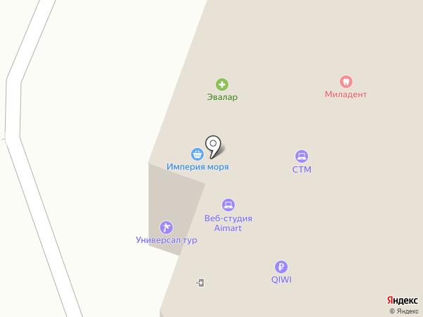 Милашка на карте Калининграда