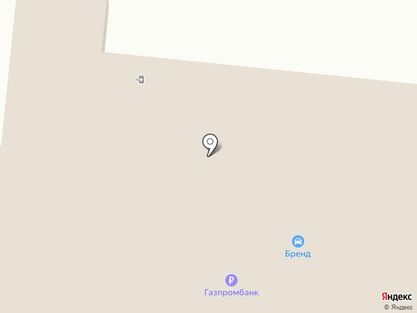Парадиз на карте Калининграда
