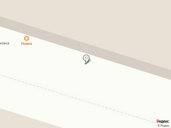 Ложка на карте Калининграда