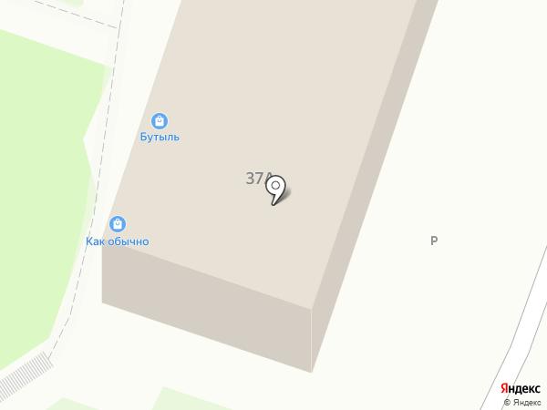 Помидор на карте Калининграда