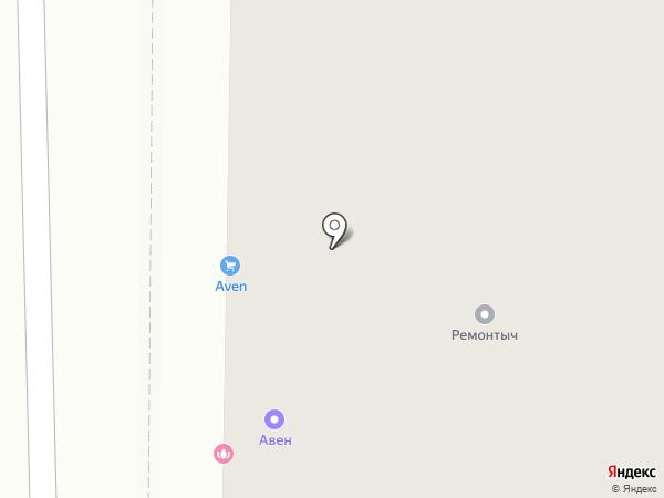 АВЕН-Резиновое покрытие на карте Калининграда