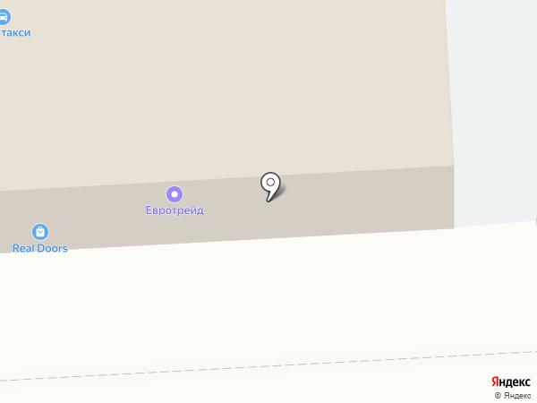 Камуфляж на карте Калининграда
