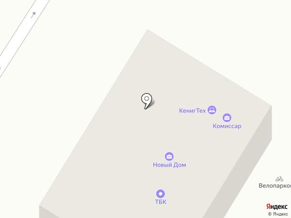 БАЛТАВТОНОМГАЗ на карте Калининграда
