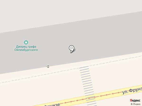 Банкомат, Газпромбанк на карте Калининграда