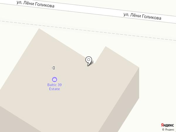 Baltic 39 Estate на карте Калининграда