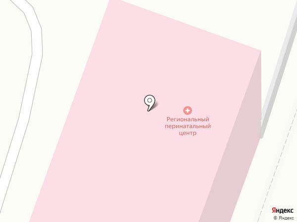 Родильный дом №1 на карте Калининграда
