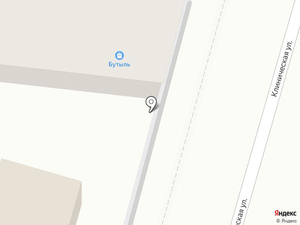 Дэда на карте Калининграда