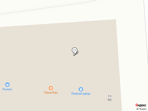 Магазин косметики и бытовой химии на карте Калининграда