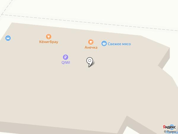 Магазин моторных масел на розлив на карте Калининграда