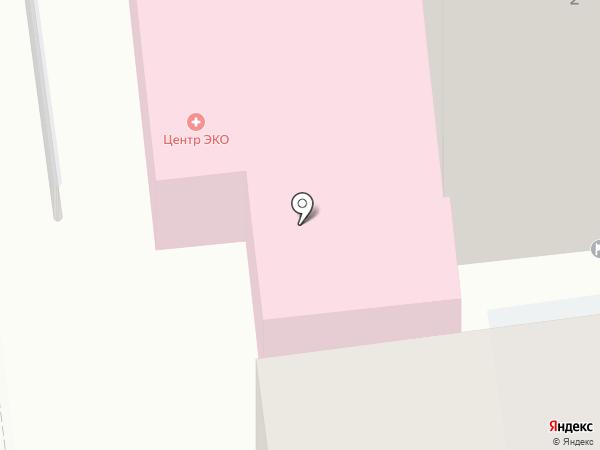 Центр ЭКО на карте Калининграда