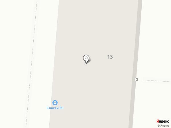 Элекол на карте Калининграда