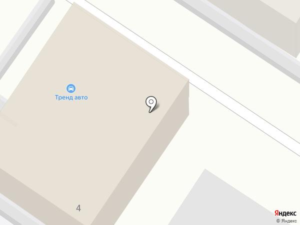 Булочка Чехова на карте Калининграда