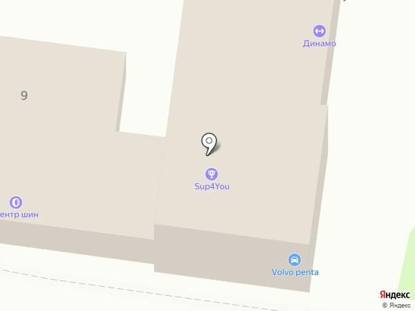 Магазин автокрасок на карте Калининграда
