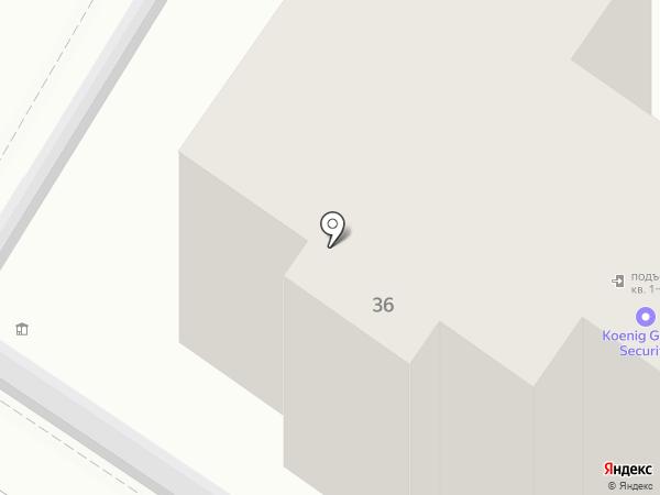 Вест трейдинг на карте Калининграда