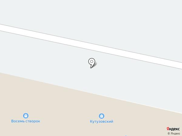 Торэкс на карте Кутузово